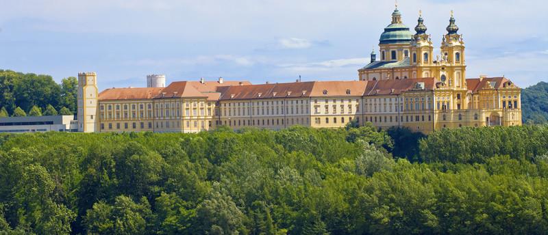 Ruta del Danubio en Bicicleta - Abadía de Melk