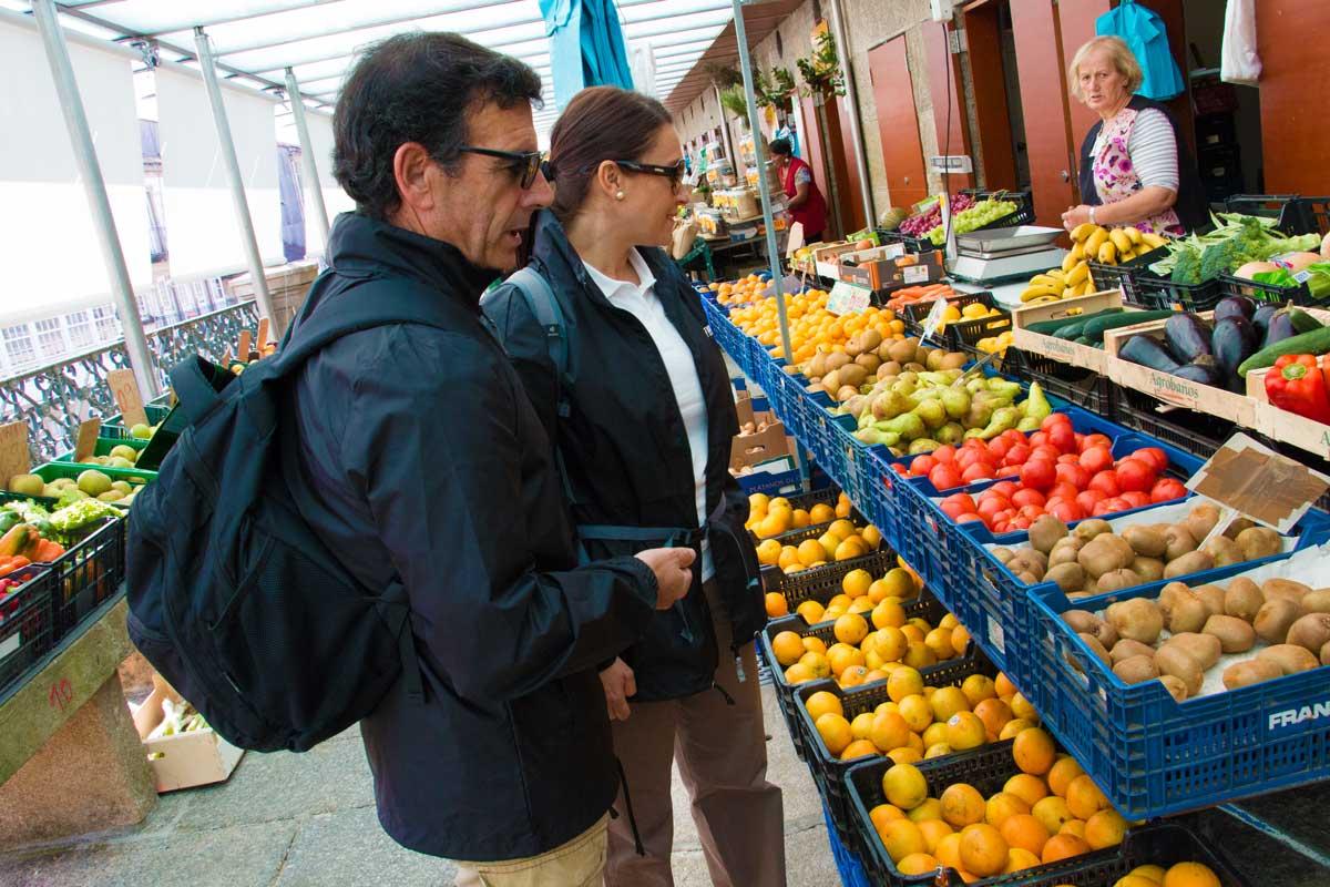 Galicia - Mercado de Santiago de Compostela