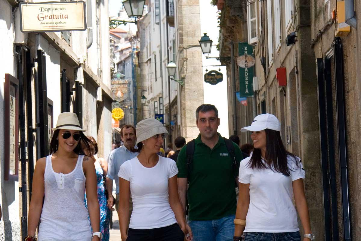 Santiago de Compostela - Rúa do Franco