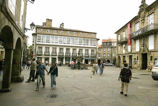 Santiago de Compostela - Plaza del Toural