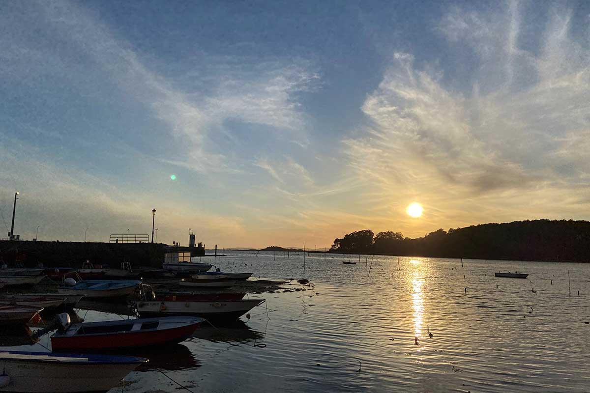 Ría de Arousa - Carril (Vilagarcía de Arousa) - Isla de Cortegada
