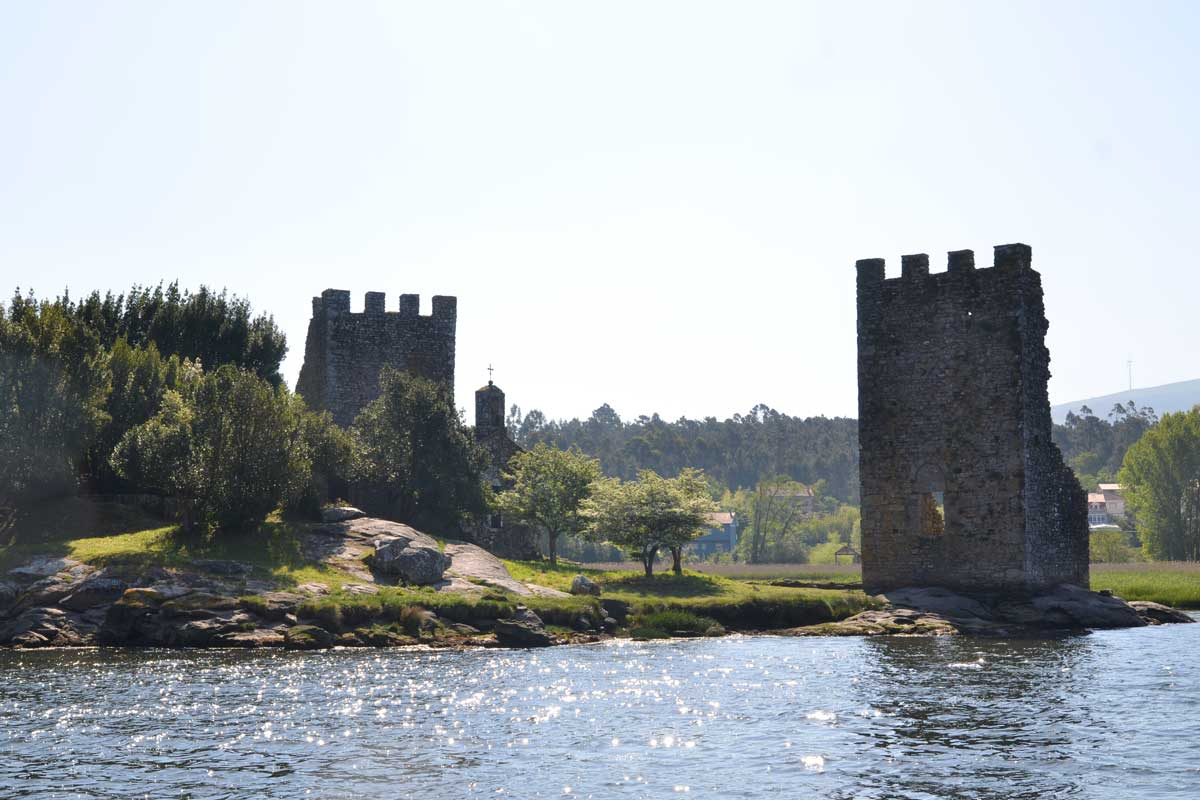 Torres de Oeste (Catoira) - Traslatio - Ruta del Mar de Arousa y Río Ulla - El Origen de Todos los Caminos de Santiago