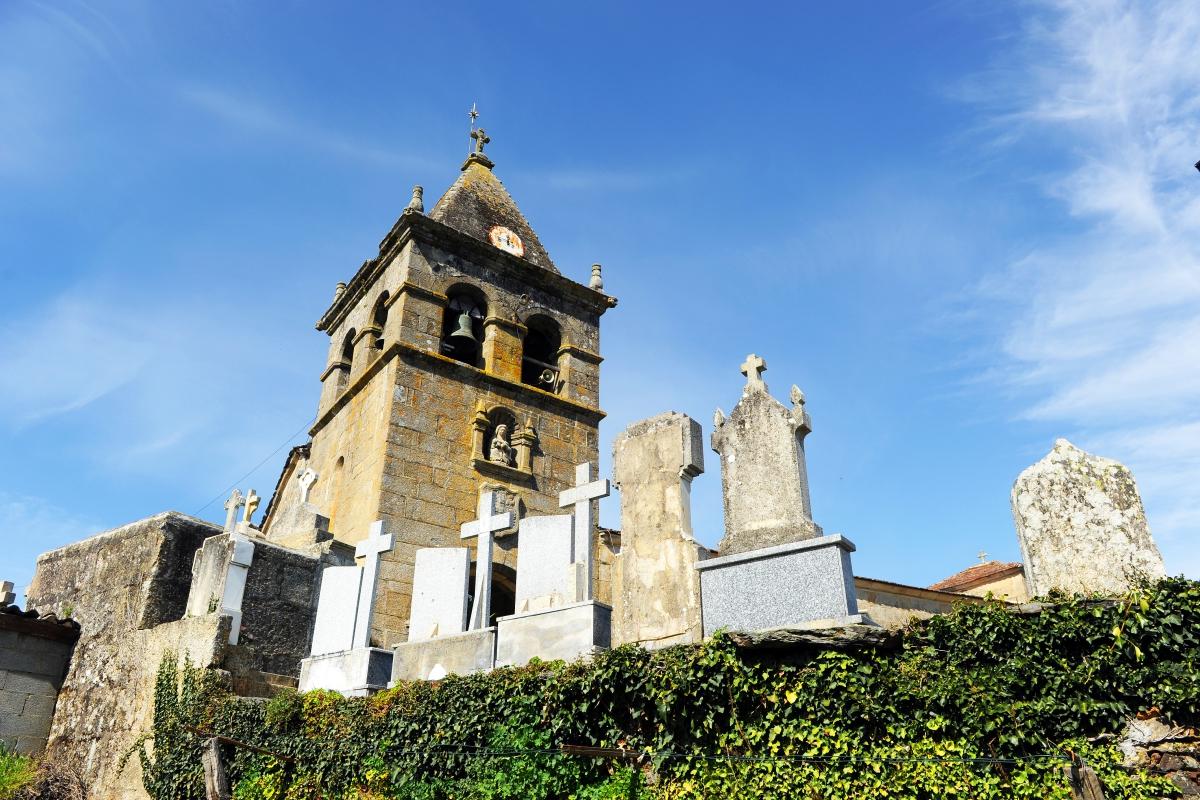 Vía de la Plata - Iglesia de San Juan de Laza