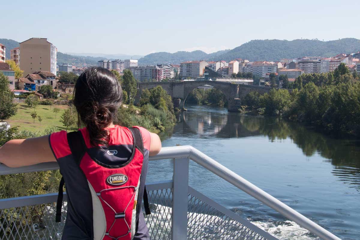 Vía de la Plata - Ourense - Río Miño
