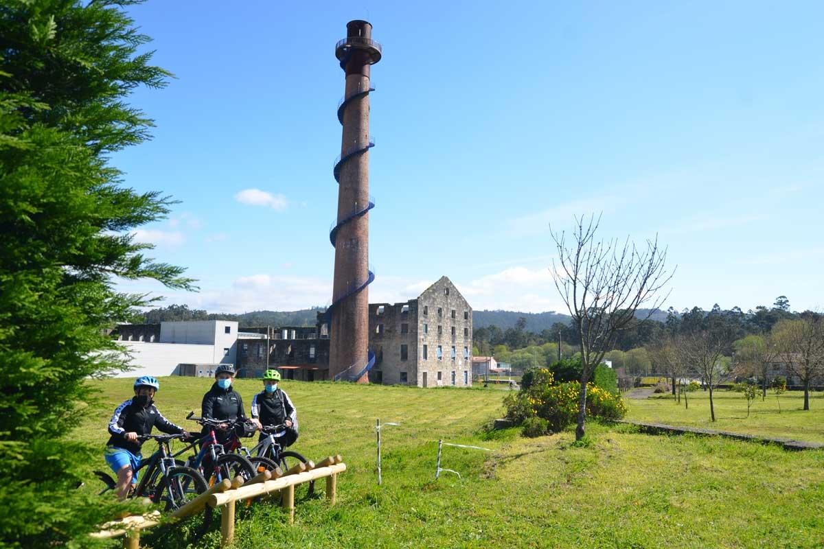 Vía Verde de Galicia - Portas - Antigua Fábrica Azucarera